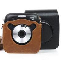 Case For Fujifilm Instax Square SQ10 Style B 富士 即影即有相機 SQ 10 專用皮套 B款