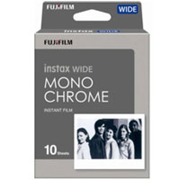 Fujifilm Instax Wide Film Mono Chrome 10s 富士即影即有相紙菲林Wide 黑白單裝