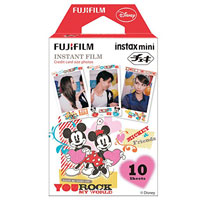 Fujifilm instax mini Film Mickey & Friends 富士即影即有菲林相紙 米奇