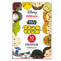 Fujifilm instax mini Film Tsum Tsum x Star Wars 富士即影即有相紙 疊疊樂+星球大戰