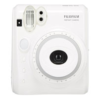 富士即影即有相機 mini50s 鋼琴白 Fujifilm instax mini 50s Piano White
