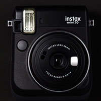 富士即影即有相機 mini 70 黑色 Fujifilm instax mini 70 Black