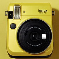 富士即影即有相機 mini 70 黃色 Fujifilm instax mini 70 Yellow