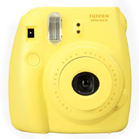 富士即影即有相機 mini8 黃色  Fujifilm instax mini 8 Yellow